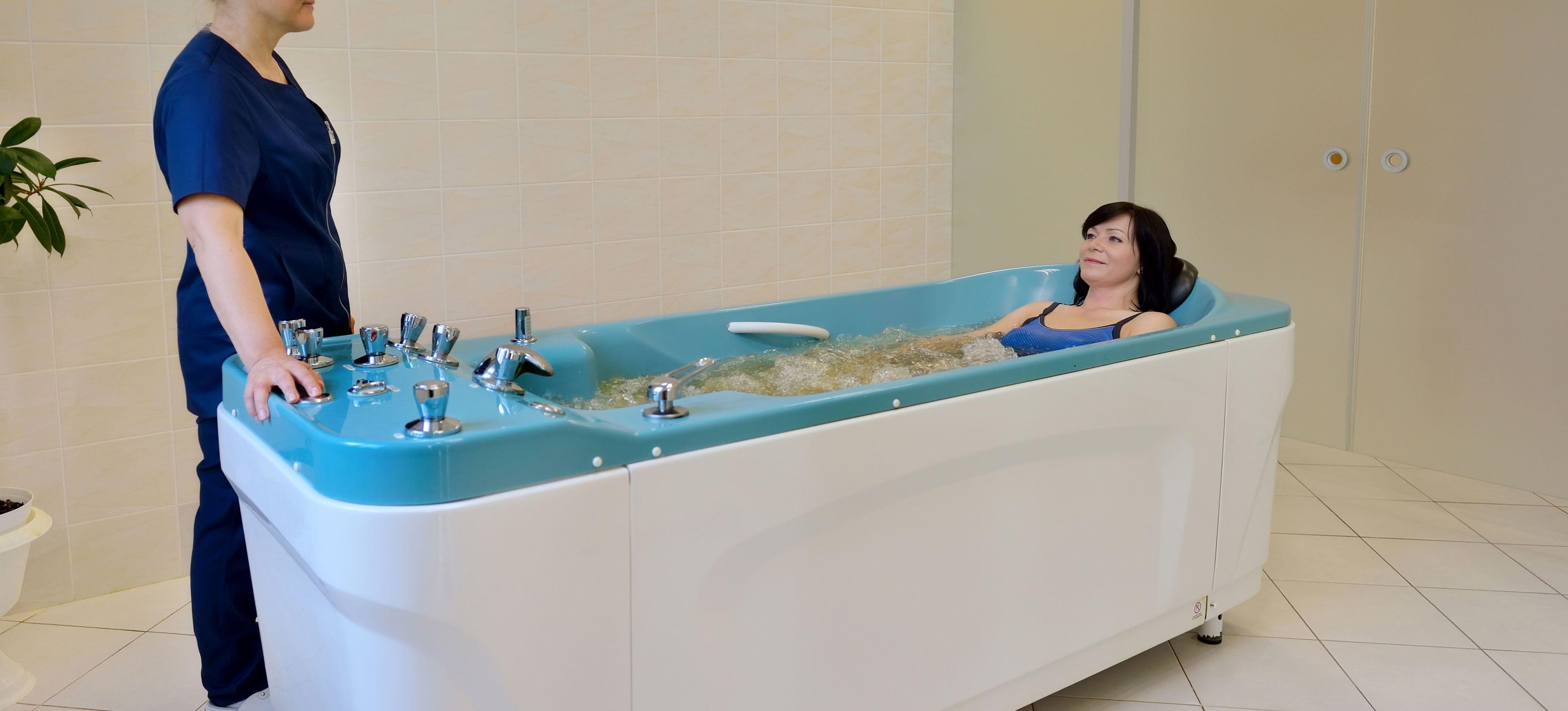 hipertenzijos sūkurinė vonia)